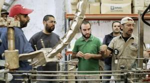ArbeiterInnen in der Fabrik in Thessaloniki