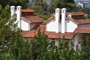 Gebäude von O Topos Mou